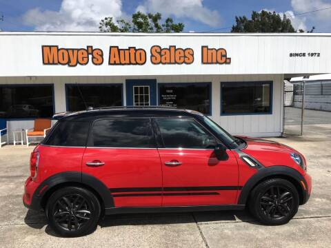 2012 MINI Cooper Countryman for sale at Moye's Auto Sales Inc. in Leesburg FL