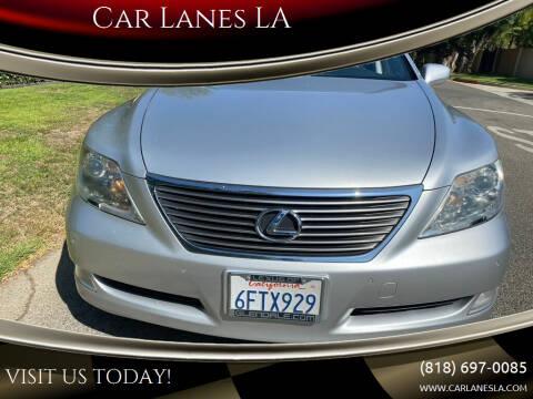 2008 Lexus LS 460 for sale at Car Lanes LA in Valley Village CA
