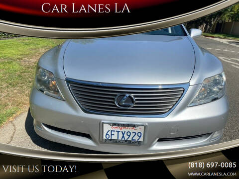 2008 Lexus LS 460 for sale at Car Lanes LA in Glendale CA