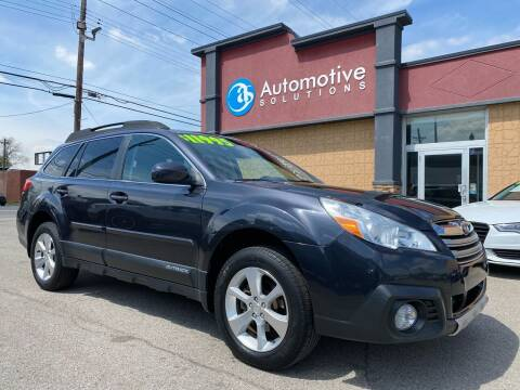 2013 Subaru Outback for sale at Automotive Solutions in Louisville KY