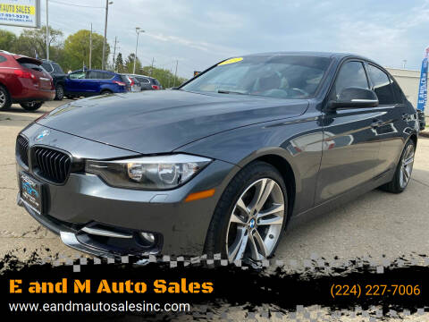 2013 BMW 3 Series for sale at E and M Auto Sales in East Dundee IL