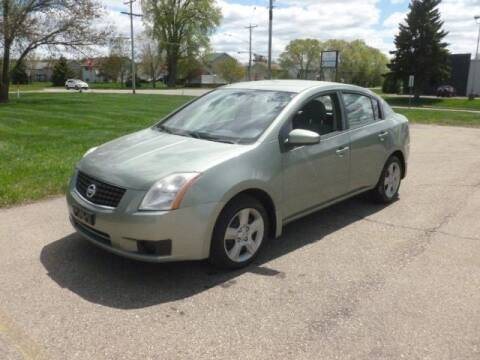 2007 Nissan Sentra for sale at HUDSON AUTO MART LLC in Hudson WI