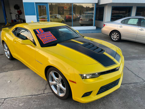 2015 Chevrolet Camaro for sale at Moye's Auto Sales Inc. in Leesburg FL