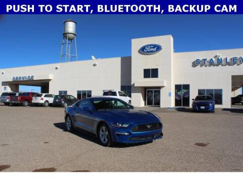 2018 Ford Mustang for sale at STANLEY FORD ANDREWS in Andrews TX