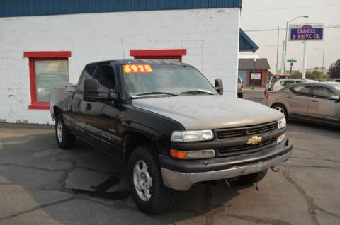 2001 Chevrolet Silverado 1500 for sale at CARGILL U DRIVE USED CARS in Twin Falls ID