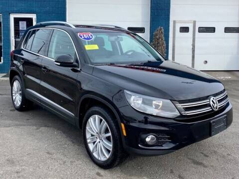 2015 Volkswagen Tiguan for sale at Saugus Auto Mall in Saugus MA
