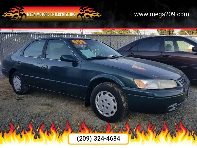 1998 Toyota Camry for sale at MEGA MOTORS ENTERPRISE INC in Modesto CA
