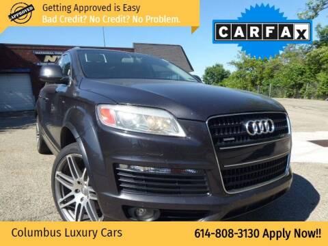 2009 Audi Q7 for sale at Columbus Luxury Cars in Columbus OH