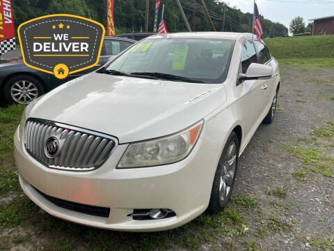 2011 Buick LaCrosse for sale at Classified Pre-owned Cars of Marlboro in Marlboro NY