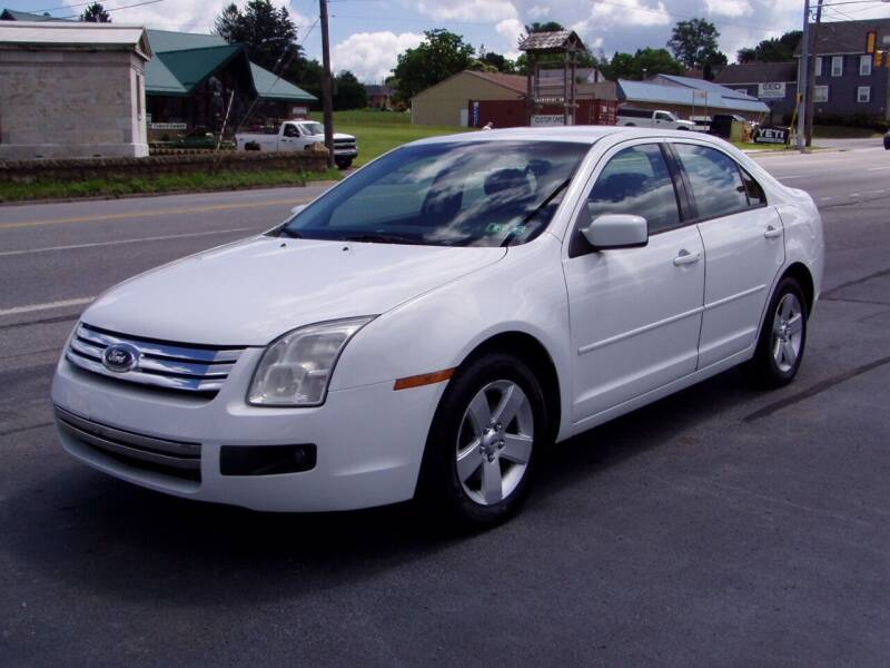 2007 Ford Fusion for sale at The Autobahn Auto Sales & Service Inc. in Johnstown PA