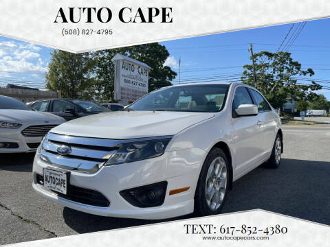 2010 Ford Fusion for sale at Auto Cape in Hyannis MA