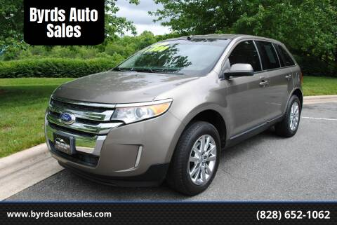 2013 Ford Edge for sale at Byrds Auto Sales in Marion NC