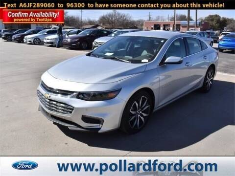 2018 Chevrolet Malibu for sale at South Plains Autoplex by RANDY BUCHANAN in Lubbock TX