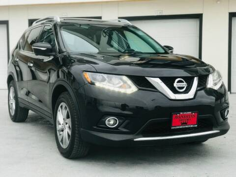 2015 Nissan Rogue for sale at Avanesyan Motors in Orem UT