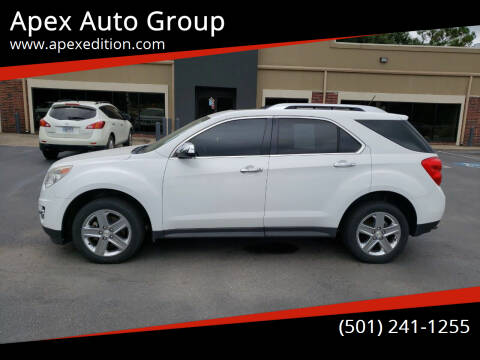 2015 Chevrolet Equinox for sale at Apex Auto Group in Cabot AR