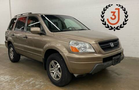 2004 Honda Pilot for sale at 3 J Auto Sales Inc in Arlington Heights IL