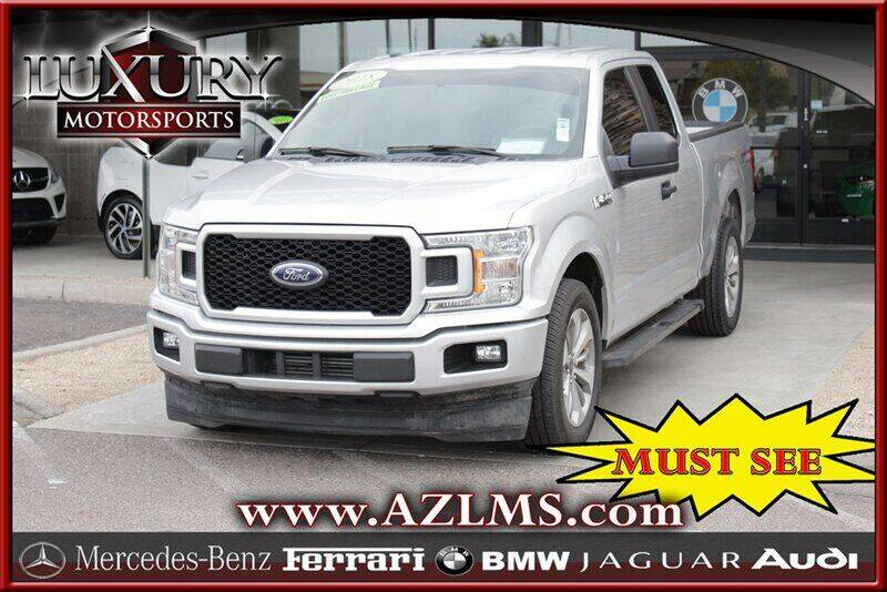 2018 Ford F-150 for sale at Luxury Motorsports in Phoenix AZ