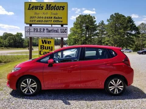 2017 Honda Fit for sale at Lewis Motors LLC in Deridder LA