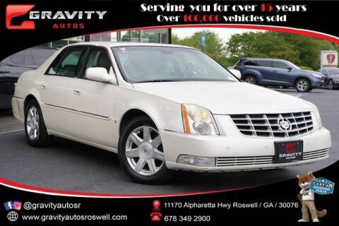 2008 Cadillac DTS for sale at Gravity Autos Roswell in Roswell GA