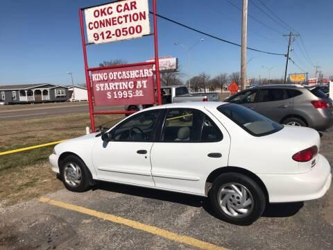 1998 Chevrolet Cavalier for sale at OKC CAR CONNECTION in Oklahoma City OK