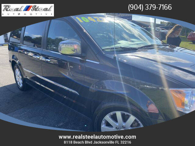 2013 Chrysler Town and Country for sale at Real Steel Automotive in Jacksonville FL