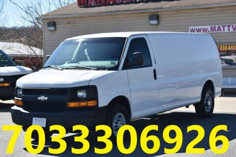 2008 Chevrolet Express Cargo for sale at MANASSAS AUTO TRUCK in Manassas VA