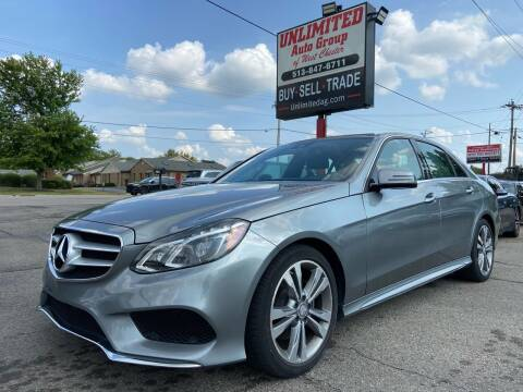 2014 Mercedes-Benz E-Class for sale at Unlimited Auto Group in West Chester OH