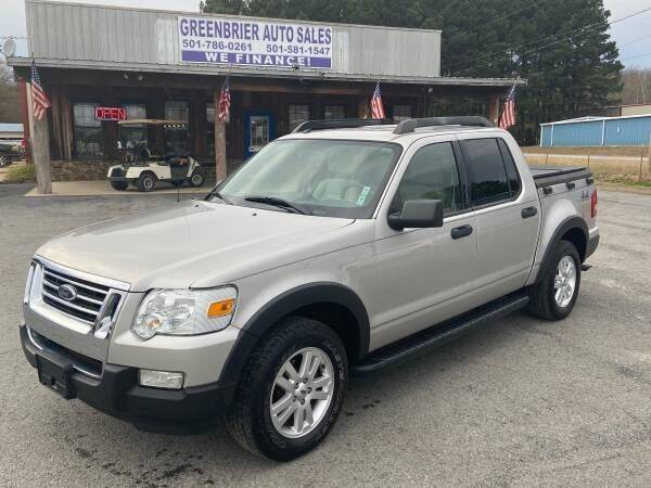 2008 Ford Explorer Sport Trac for sale at Greenbrier Auto Sales in Greenbrier AR