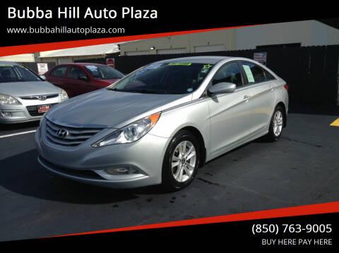 2013 Hyundai Sonata for sale at Bubba Hill Auto Plaza in Panama City FL
