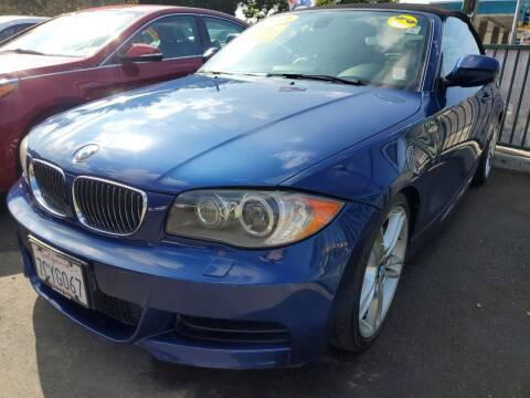 2011 BMW 1 Series for sale at ALL CREDIT AUTO SALES in San Jose CA