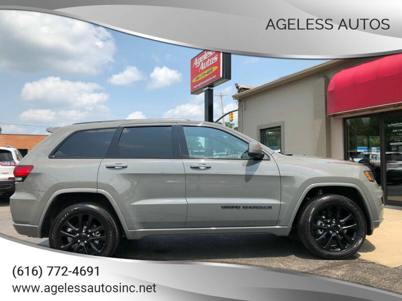 2020 Jeep Grand Cherokee for sale at Ageless Autos in Zeeland MI