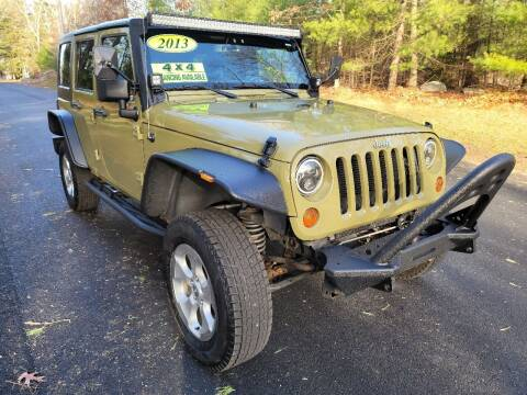 2013 Jeep Wrangler Unlimited for sale at Showcase Auto & Truck in Swansea MA