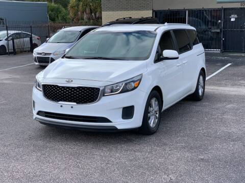 2015 Kia Sedona for sale at GREAT DEAL AUTO in Tampa FL