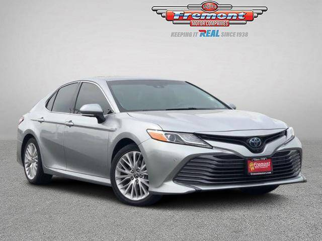 2018 Toyota Camry Hybrid for sale at Rocky Mountain Commercial Trucks in Casper WY