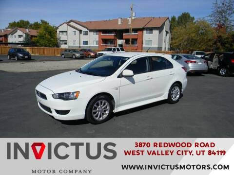 2013 Mitsubishi Lancer Sportback for sale at INVICTUS MOTOR COMPANY in West Valley City UT