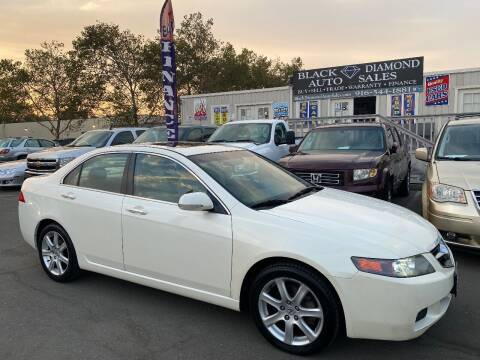 2005 Acura TSX for sale at Black Diamond Auto Sales Inc. in Rancho Cordova CA
