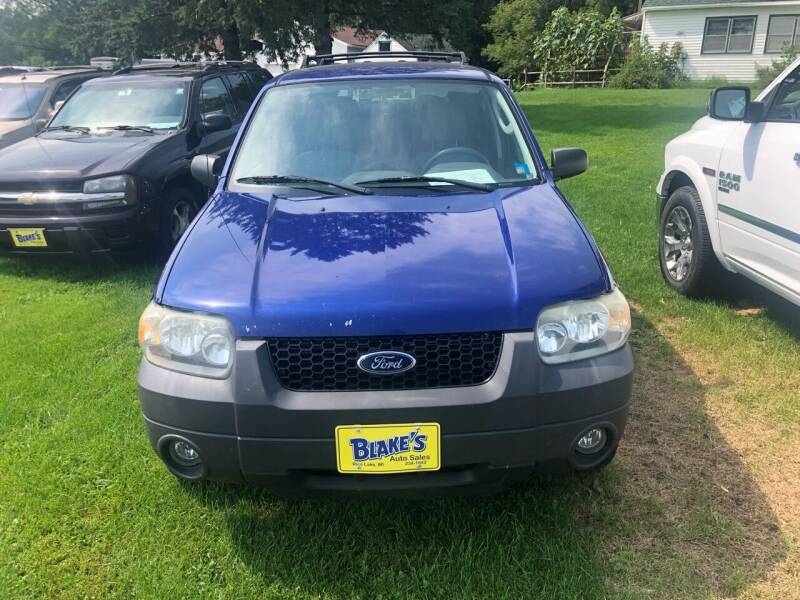 2006 Ford Escape for sale at Blakes Auto Sales in Rice Lake WI