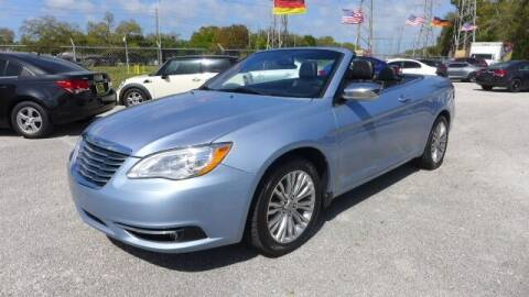 2012 Chrysler 200 Convertible for sale at Das Autohaus Quality Used Cars in Clearwater FL