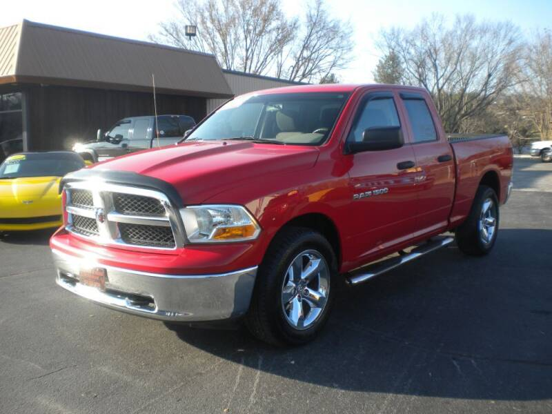 2011 RAM Ram Pickup 1500 for sale at Houser & Son Auto Sales in Blountville TN
