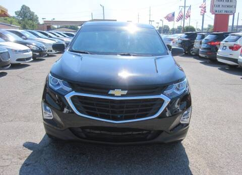 2018 Chevrolet Equinox for sale at T & D Motor Company in Bethany OK
