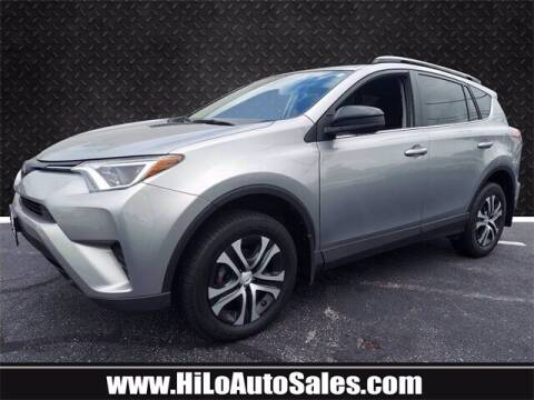 2018 Toyota RAV4 for sale at Hi-Lo Auto Sales in Frederick MD