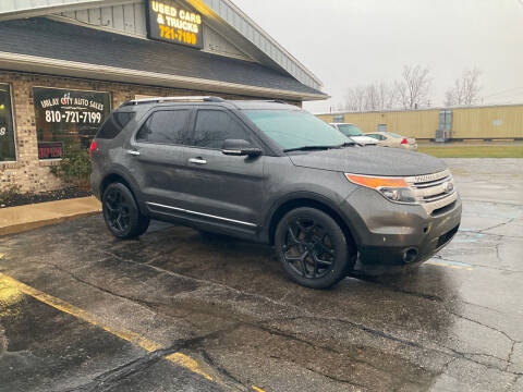 2015 Ford Explorer for sale at Imlay City Auto Sales LLC. in Imlay City MI