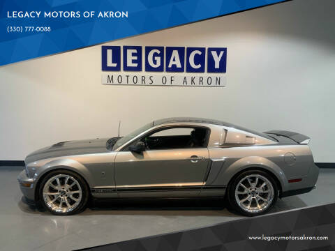 2009 Ford Shelby GT500 for sale at LEGACY MOTORS OF AKRON in Akron OH