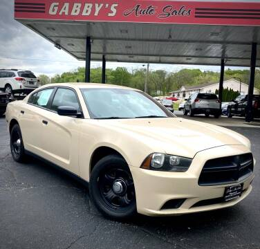2011 Dodge Charger for sale at GABBY'S AUTO SALES in Valparaiso IN