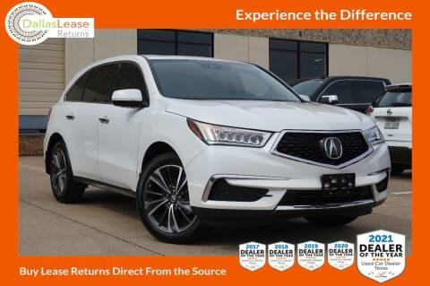 2020 Acura MDX for sale at Dallas Auto Finance in Dallas TX