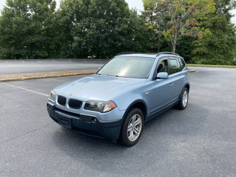 2005 BMW X3 for sale at SMZ Auto Import in Roswell GA