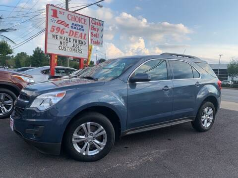 2012 Chevrolet Equinox for sale at 1st Choice Auto Sales in Newport News VA