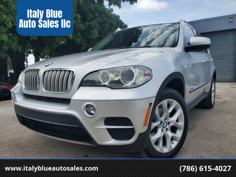 2013 BMW X5 for sale at Italy Blue Auto Sales llc in Miami FL