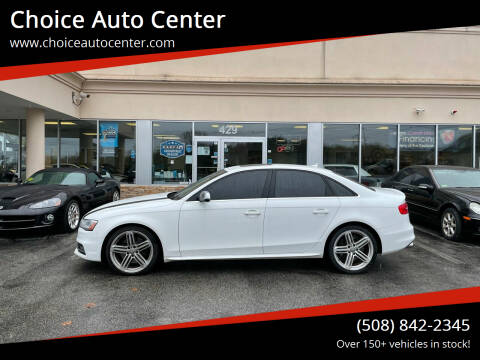 2014 Audi S4 for sale at Choice Auto Center in Shrewsbury MA