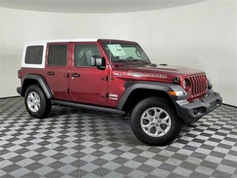 2021 Jeep Wrangler Unlimited for sale at PHIL SMITH AUTOMOTIVE GROUP - Encore Chrysler Dodge Jeep Ram in Mobile AL
